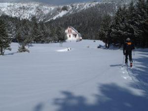 Esquí de muntanya a les Comes de Rubió